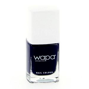 Wapa Vernis à ongles séchage rapide Bleu nuit 034 12ML, Vernis à ongles couleur