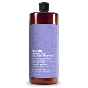 Amika Après-shampooing déjaunisseur Bust Your Brass 1000ML, Après-shampoing avec rinçage