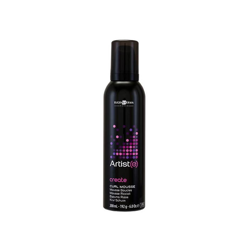 Eugène Perma Mousse boucles Curl Mousse Artiste Create 200ML, Mousse coiffante