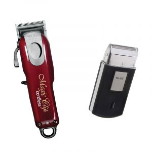 Duo Wahl Tondeuse de coupe Magic Clip Cordless 5 Star LIne & Rasoir de voyag