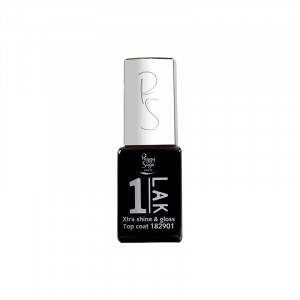 Peggy Sage Mini top coat UV & LED - Xtra gloss & shine 5ml, Gel finition
