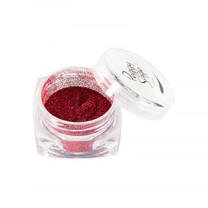 Paillettes pour ongles Metallic red