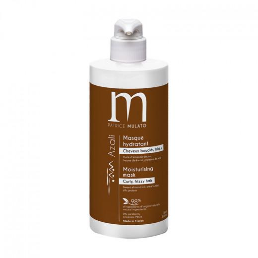 Mulato Masque hydradant Azali - Cheveux bouclés & frisés 500ml, Après-shampoing naturel