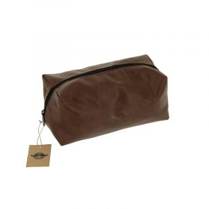 Trousse de toilette Barber Marron 23.5x14.5x 11cm