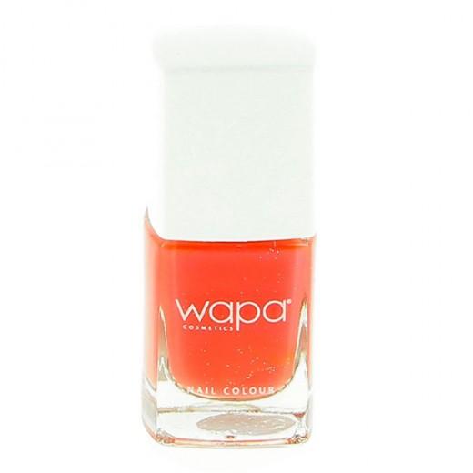 Wapa Vernis à ongles séchage rapide Orange corail 008 12ML, Vernis à ongles couleur