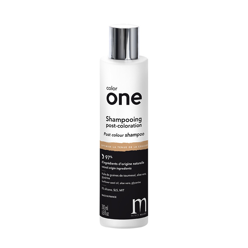 Mulato Shampooing post-coloration Color One 200ml, Shampoing naturel
