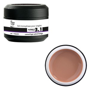 Peggy Sage Gel de construction 3 en 1 Pro 3.1 Camouflage beige 15g, Gel construction