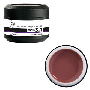 Peggy Sage Gel de construction 3 en 1 Pro 3.1 Camouflage pink 15g, Gel construction