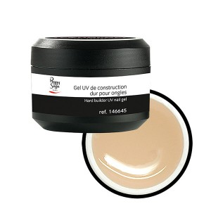 Peggy Sage Gel UV de construction dur medium pour ongles Transparent 50g, Gel construction