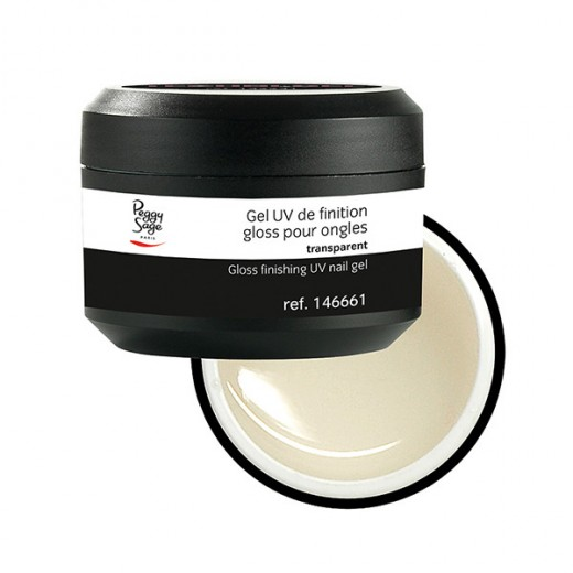 Peggy Sage Gel UV de finition gloss Transparent 50g, Gel finition