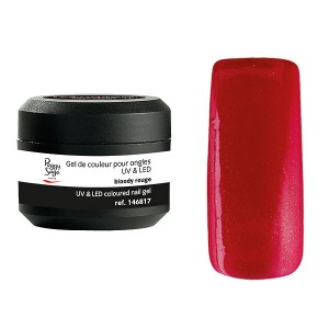 Peggy Sage Gel de couleur UV & LED Color It - Bloody rouge 5g, Gel couleur