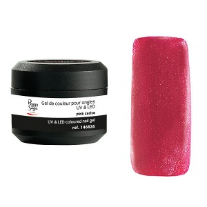 Peggy Sage Gel de couleur UV & LED Color It - Pink cerise 5g, Gel couleur