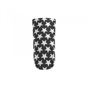 Décors ongles nail foils black and silver