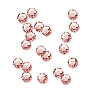 Peggy Sage Strass pour ongles ss5 x20 Blush rose, Nail Art Strass
