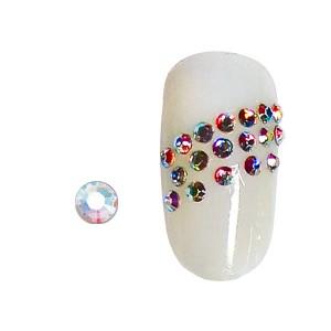 Peggy Sage Strass pour ongles x20 Aurore boréale, Nail Art Strass
