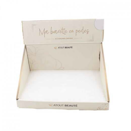 Atout Beauté Présentoir vide Ma barette en perles, Présentoir produits