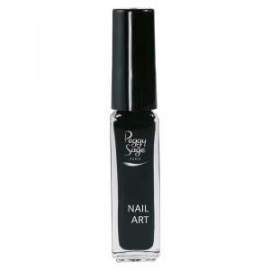Peggy Sage Vernis nail art Noir 7ML, Vernis Nail Art