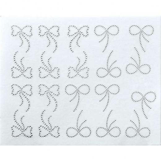 Peggy Sage Décalcomanies pour ongles peggy sage, Foil Nail Art