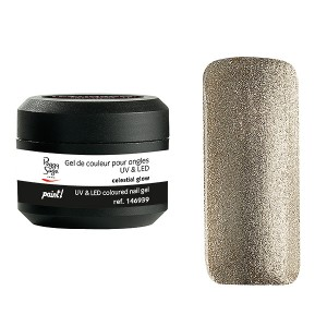Peggy Sage Gel de couleur UV & LED Technigel Paint Celestial glow, Gel couleur