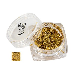 Pigments Flakes pour ongles 1g Gold