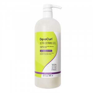 DevaCurl Ultra Defining Gel coiffant fixation forte boucles 946ML, Crème cheveux