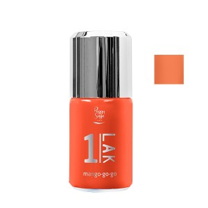 Peggy Sage Vernis semi-permanent 1-Lak Mango-go-go 10ML, Vernis semi-permanent couleur