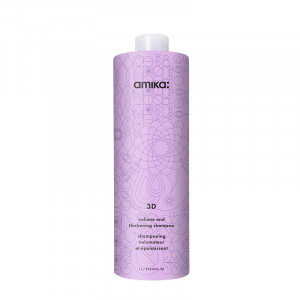 Amika Shampooing volumisant & épaississant - Volume and thickening shampoo 3D 1000, Cosmétique