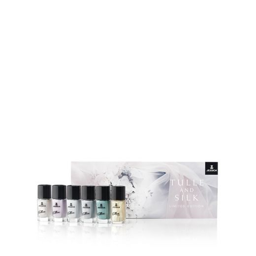 Kit de 6 vernis à ongles Tulles and silk Collection Jessica