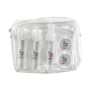 Peggy Sage Kit de voyage Transparent, Trousse maquillage