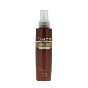 B-App Spray 10 bénéfices huile d'argan et collagène 150ML, Spray cheveux