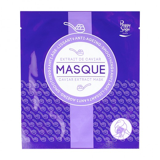 Peggy Sage Masque anti-âge Lissant 23ML, Masque visage