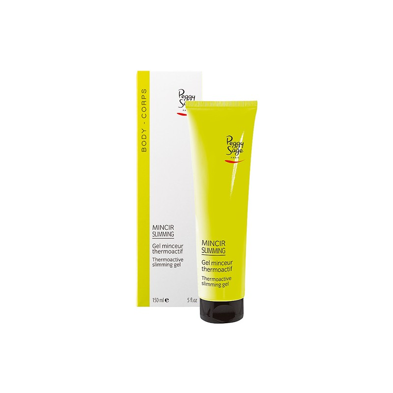 Peggy Sage Gel minceur thermoactif 150ML, Soin amincissant
