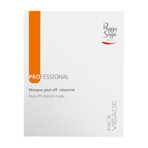 Peggy Sage Masque peel-off vitaminé 30g x6, Masque visage