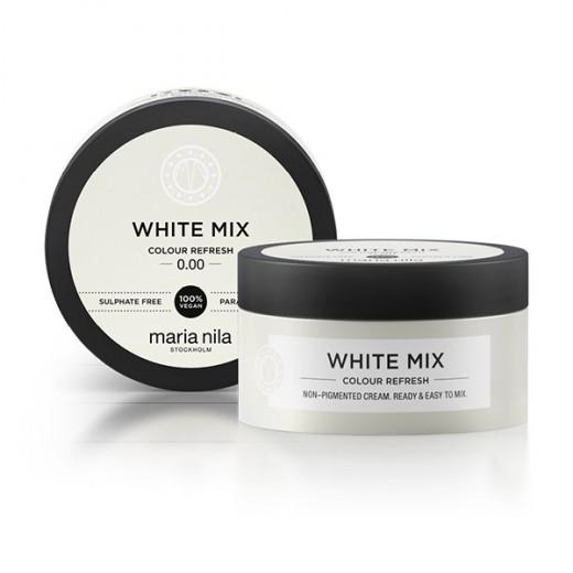 Maria Nila Masque  Colour Refresh 0.00 White mix 100ML, Après-shampoing repigmentant