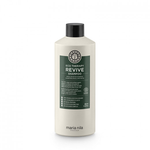 Maria Nila Shampooing micellaire détox Eco therapy revive 350ml, Shampoing naturel