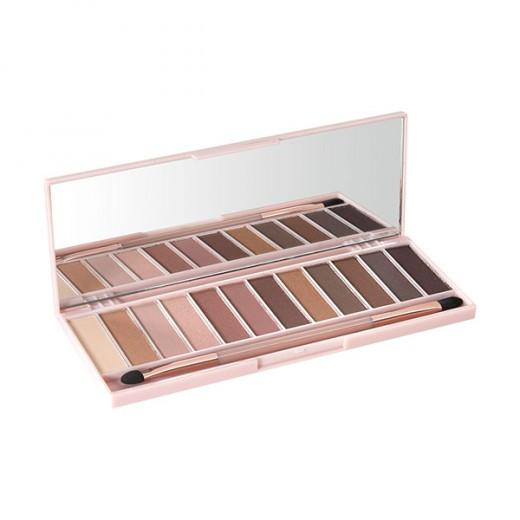 Peggy Sage Palette de 12 ombres à paupières Nude shades x 2.2g, Palette maquillage