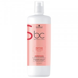 Schwarzkopf Shampooing micellaire nutritif intense Peptide Repair Rescue 1000ML, Cosmétique