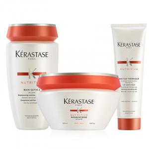 Kerastase Trio Nutritive Cheveux Epais 600ML, Cosmétique