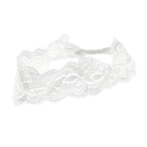 Queen Pam Bandeau dentelle Blanc, Head band