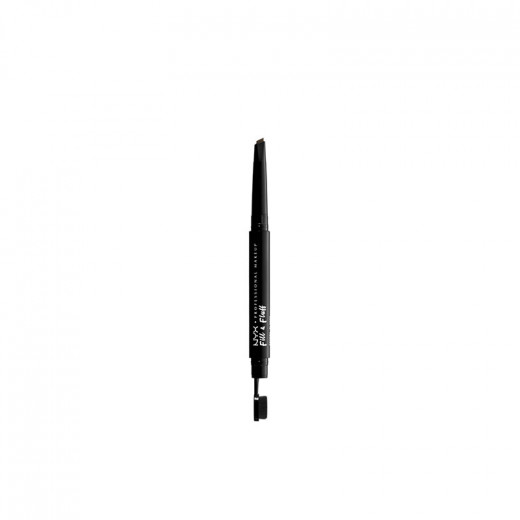 NYX Professional Makeup Crayon à sourcils double-embout Fill & Fluff Ash Brown 1.4g, Crayon sourcils
