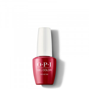 OPI Vernis semi-permanent GelColor Red Hot Rio, Vernis semi-permanent couleur