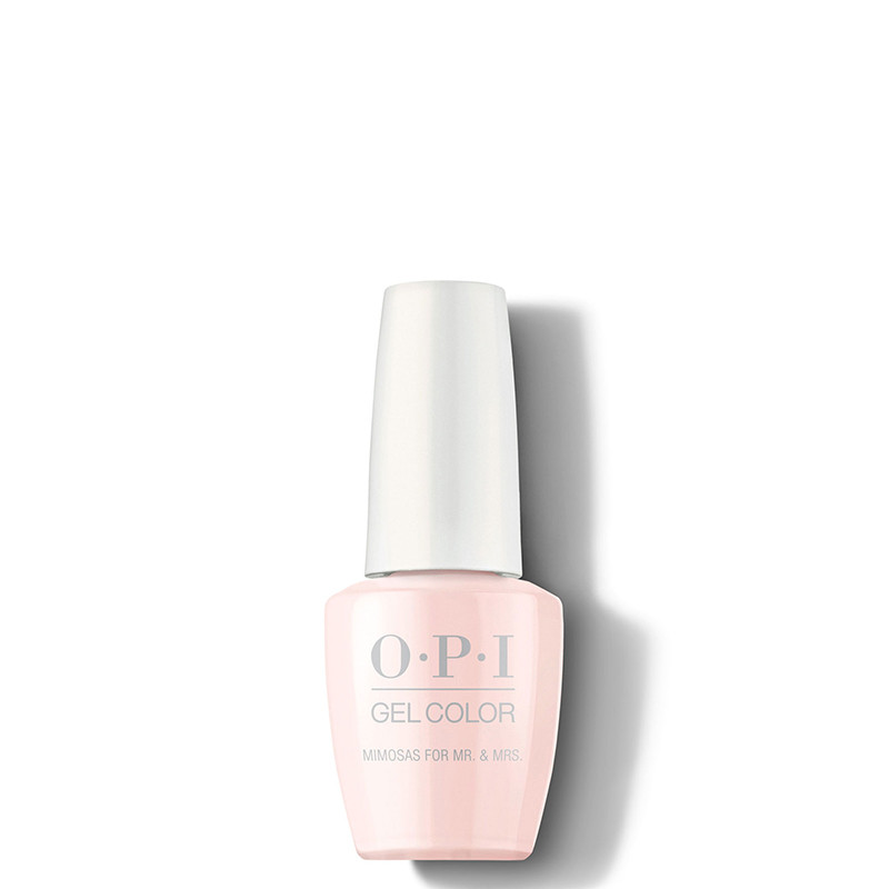 OPI Vernis semi-permanent GelColor Mimosa for the Mr. & Mrs, Vernis semi-permanent couleur