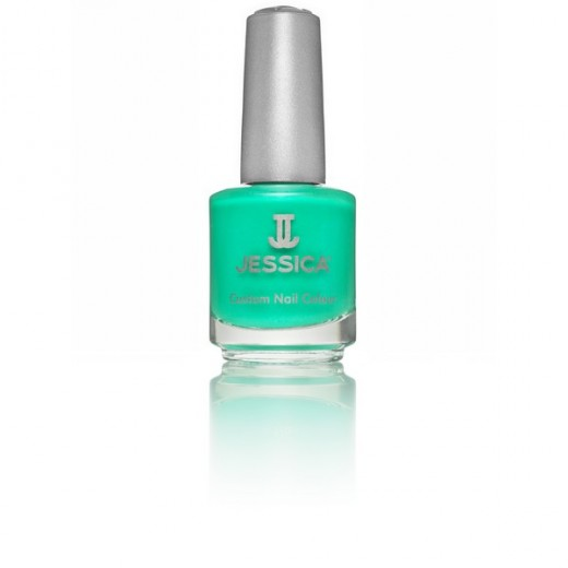 Jessica Vernis à ongles Electric teal 14ML, Vernis à ongles couleur