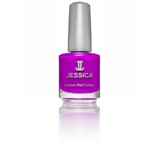 Jessica Vernis à ongles Purple bust 14ML, Vernis à ongles couleur