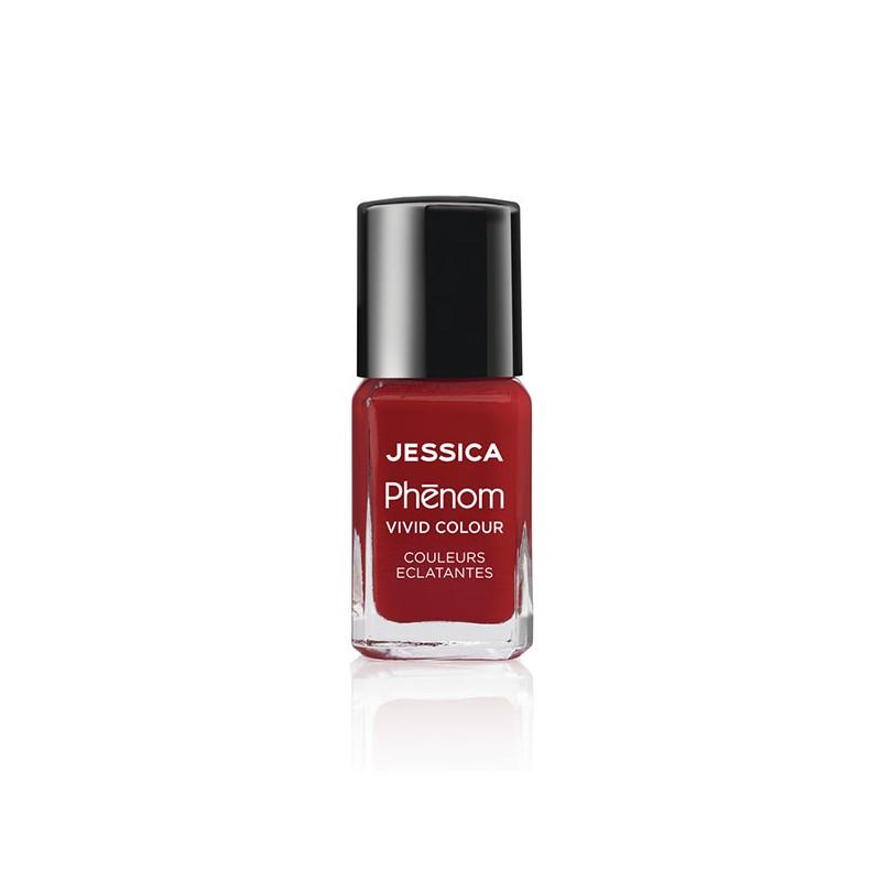 Jessica Vernis à ongles Phenom Red 15ML, Vernis à ongles couleur