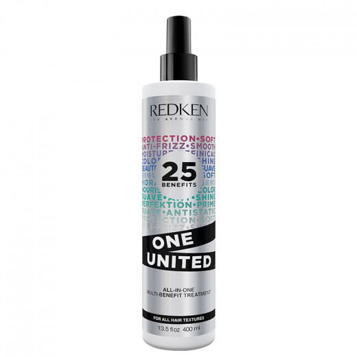 Redken Spray miracle 25-en-1 multi-bénéfices One United 400ML, Spray cheveux