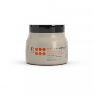 Macadamia Masque nourrissant macadamia et collagène 500ML, Masque cheveux