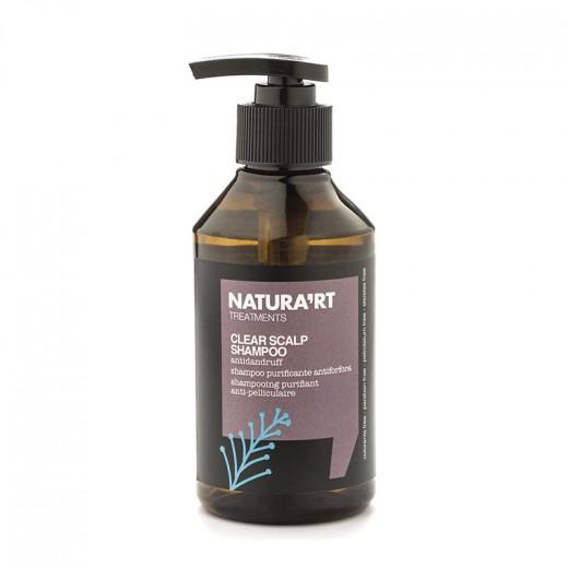 Natura'rt Shampooing purifiant Clear Scalp 250ML, Shampoing traitant