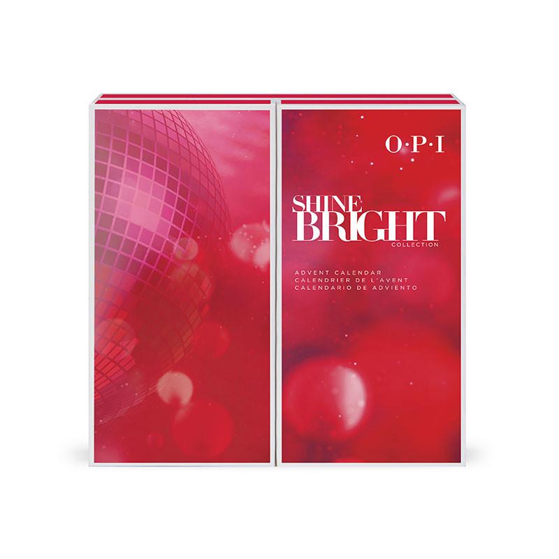 Calendrier de l'avent OPI Shine Bright - 25 mini vernis Holiday '20