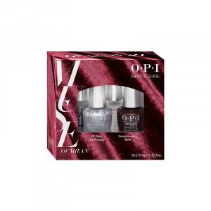 OPI Kit 4 mini vernis à ongles Infinite Shine - Milan collection (x3.75ml) 15ML, Vernis à ongles couleur